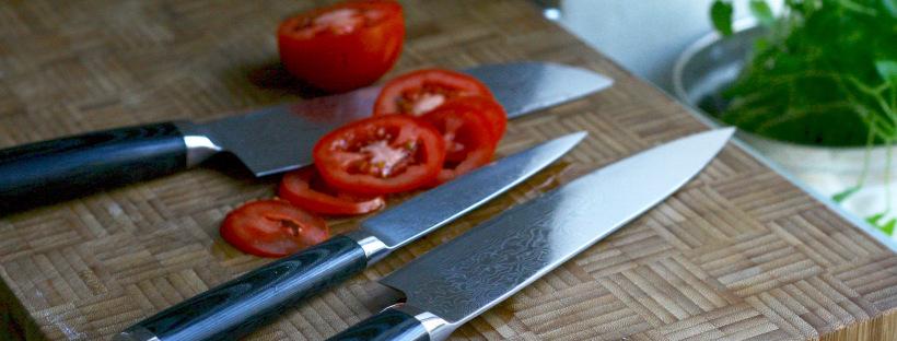 Professionelle køkkenknive gør madlavningen sjovere
